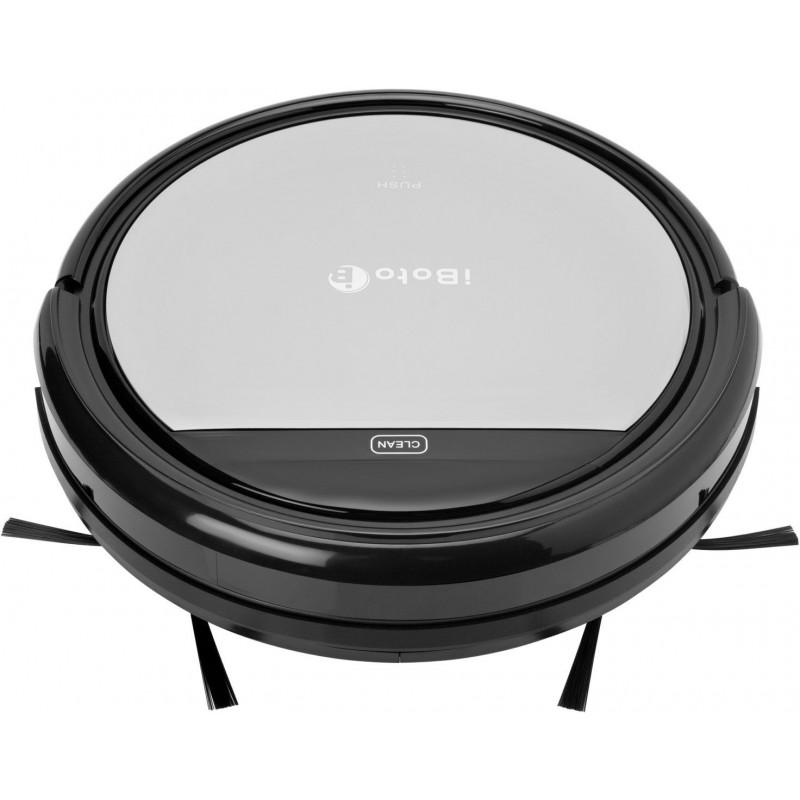 Пылесос-робот iBoto smart x320g aqua черный/серый