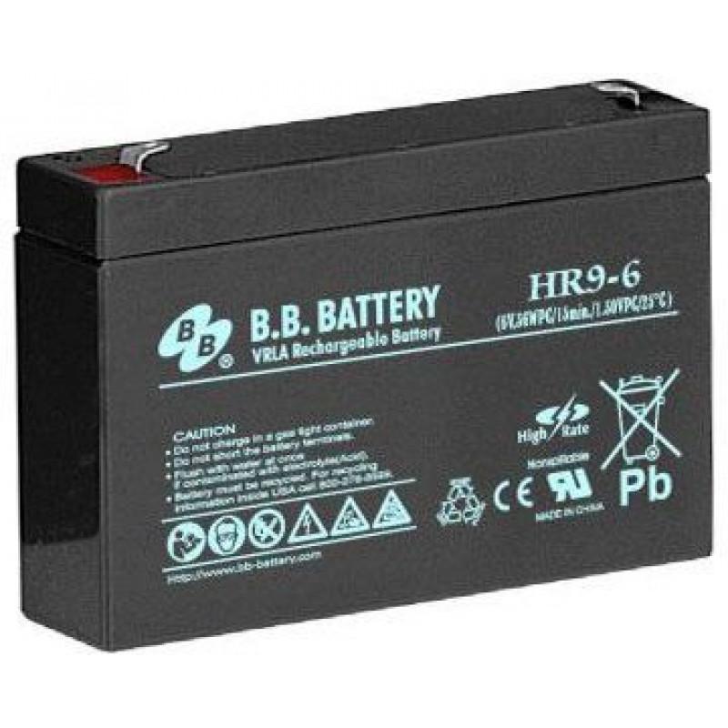 Батарея для ИБП BB HR 9-6 6В 9Ач