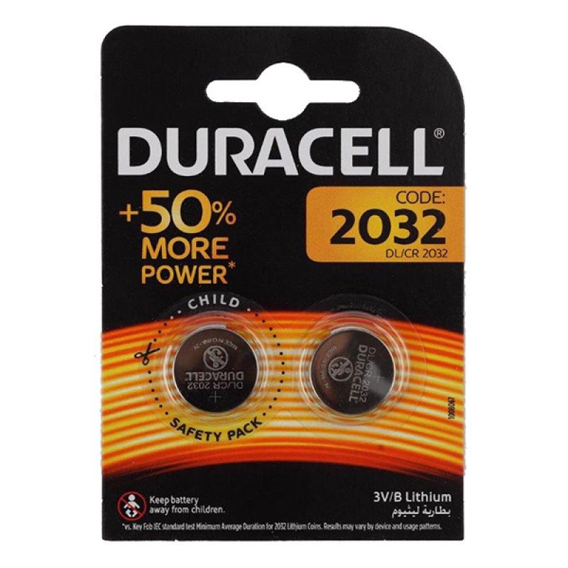 Батарея Duracell DL/CR2032 CR2032 (2шт)