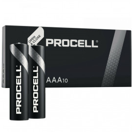 Батарея Duracell Procell LR03-10BL MN2400 AAA (10шт)