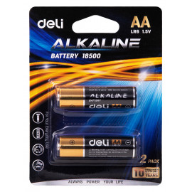 Батарея Deli E18500 AA (2шт) блистер