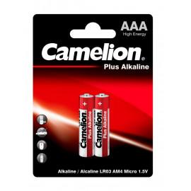 Батарея Camelion Plus Alkaline LR03-BP2 AAA 1250mAh (2шт) блистер
