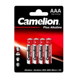 Батарея Camelion Plus Alkaline LR03-BP4 AAA 1250mAh (4шт) блистер