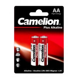 Батарея Camelion Plus Alkaline LR6-BP2 AA 2700mAh (2шт) блистер