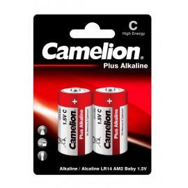 Батарея Camelion Plus Alkaline LR14-BP2 C 8000mAh (2шт) блистер
