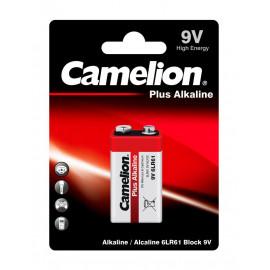 Батарея Camelion Plus Alkaline 6LR61-BP1 9V 550mAh (1шт) блистер