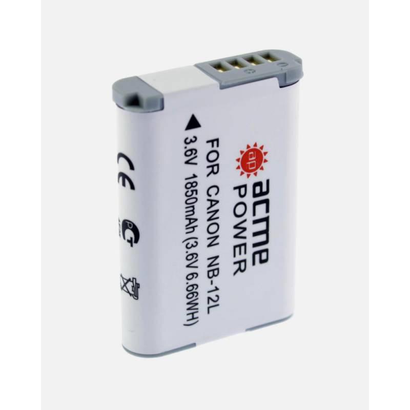 Аккумулятор для компактных камер AcmePower AP-NB-12L для: Canon PowerShot N100/VIXIA mini X/G1X mark II/Legria mini X
