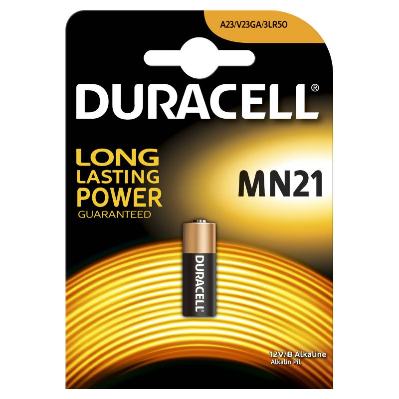 Батарея Duracell MN21 A23 (1шт)