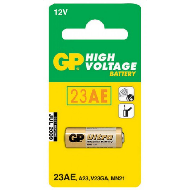 Батарея GP Ultra Alkaline 23AF MN21 (1шт)