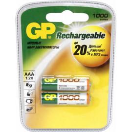 Аккумулятор GP 100AAAHC AAA NiMH 1000mAh (2шт)