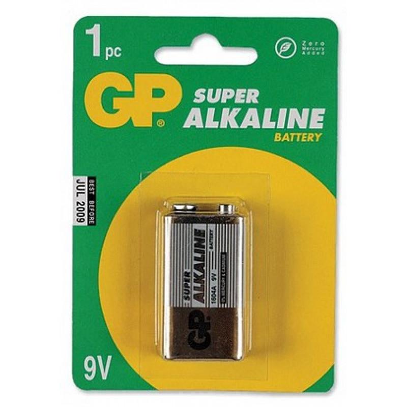 Батарея GP Supercell 1604S 6F22 9V (1шт)