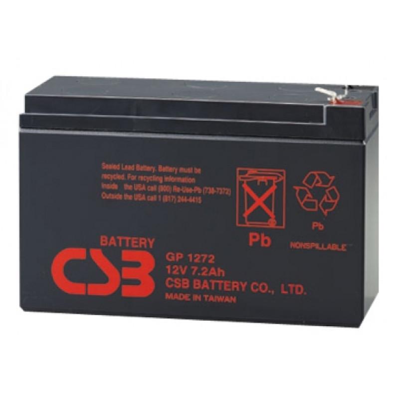 Батарея для ИБП CSB GP1272F2 28W 12В 7.2Ач