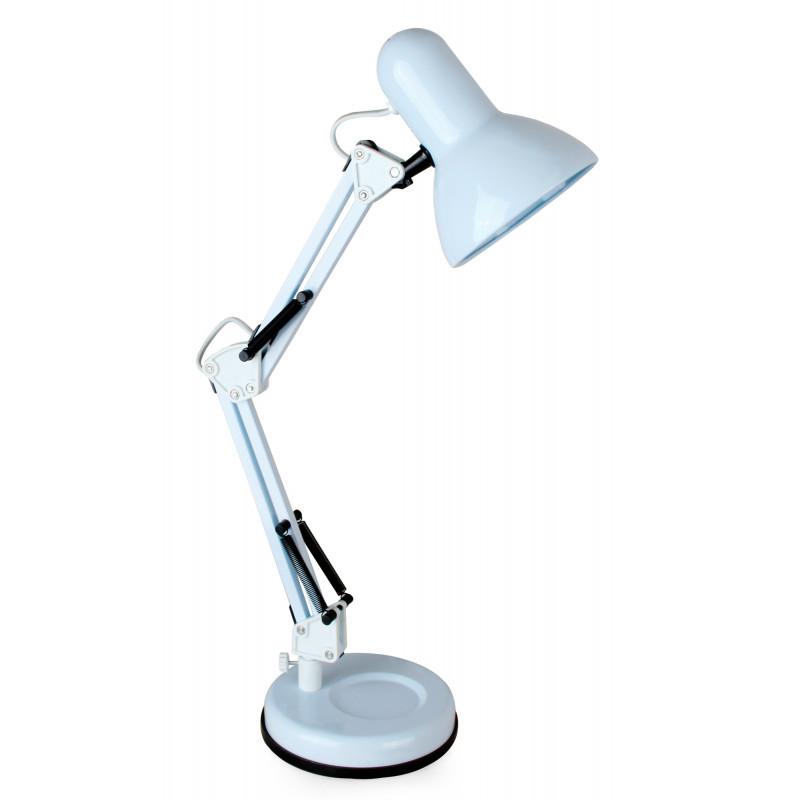 Светильник Camelion KD-313 C01 (13639) настольный на основание E27 белый 60Вт