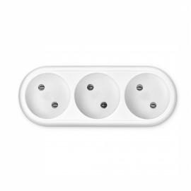 Сетевой разветвитель Buro BU-PS3-W (3 розетки) белый (пакет ПЭ)