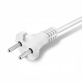 Сетевой удлинитель Buro BU-PSL2.3/W 3м (2 розетки) белый (пакет ПЭ)