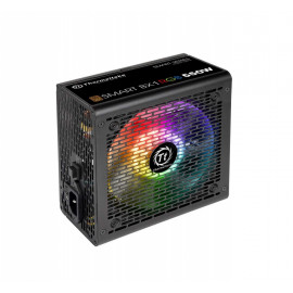 Блок питания Thermaltake ATX 550W Smart BX1 RGB 80+ bronze (24+4+4pin) APFC 120mm fan color LED 6xSATA RTL