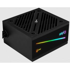 Блок питания Aerocool ATX 500W CYLON 500 80+ (24+4+4pin) APFC 120mm fan color 5xSATA RTL