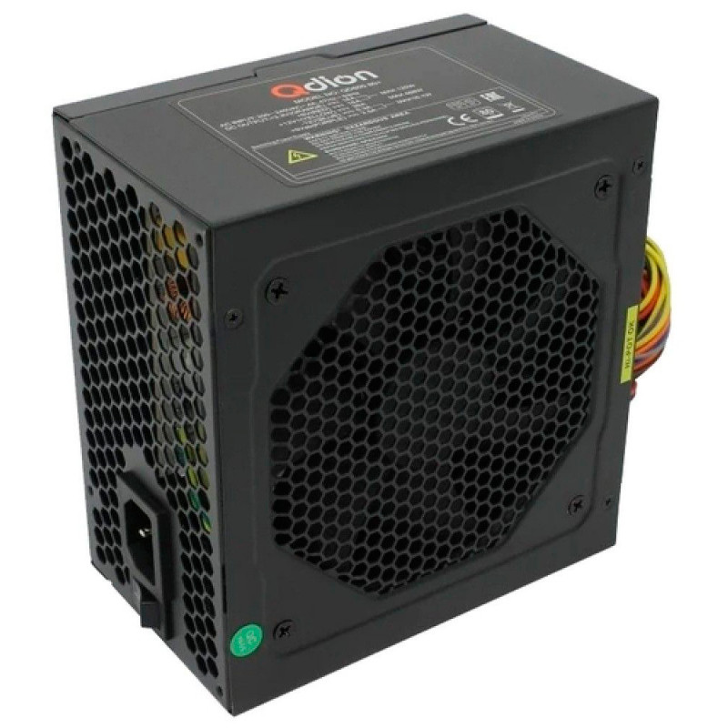 Блок питания Qdion ATX 600W Q-DION QD600-PNR 80+ (24+4+4pin) APFC 120mm fan 5xSATA