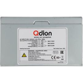 Блок питания Qdion ATX 650W Q-DION QD650-PNR 80+ 80+ (24+4+4pin) APFC 120mm fan 5xSATA