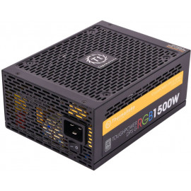 Блок питания Thermaltake ATX 1500W Toughpower DPS G RGB 80+ titanium (24+4+4pin) APFC 140mm fan color 12xSATA Cab Manag RTL