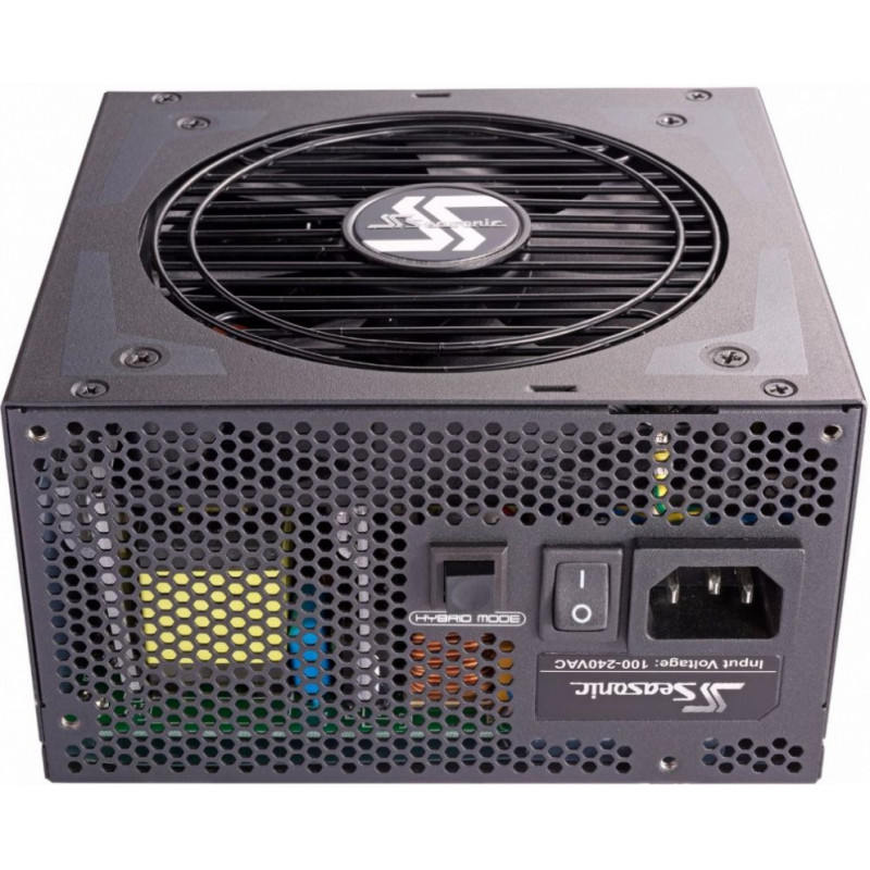Блок питания Seasonic ATX 750W FOCUS Plus SSR-750PX 80+ platinum (24+4+4pin) APFC 120mm fan 8xSATA Cab Manag RTL