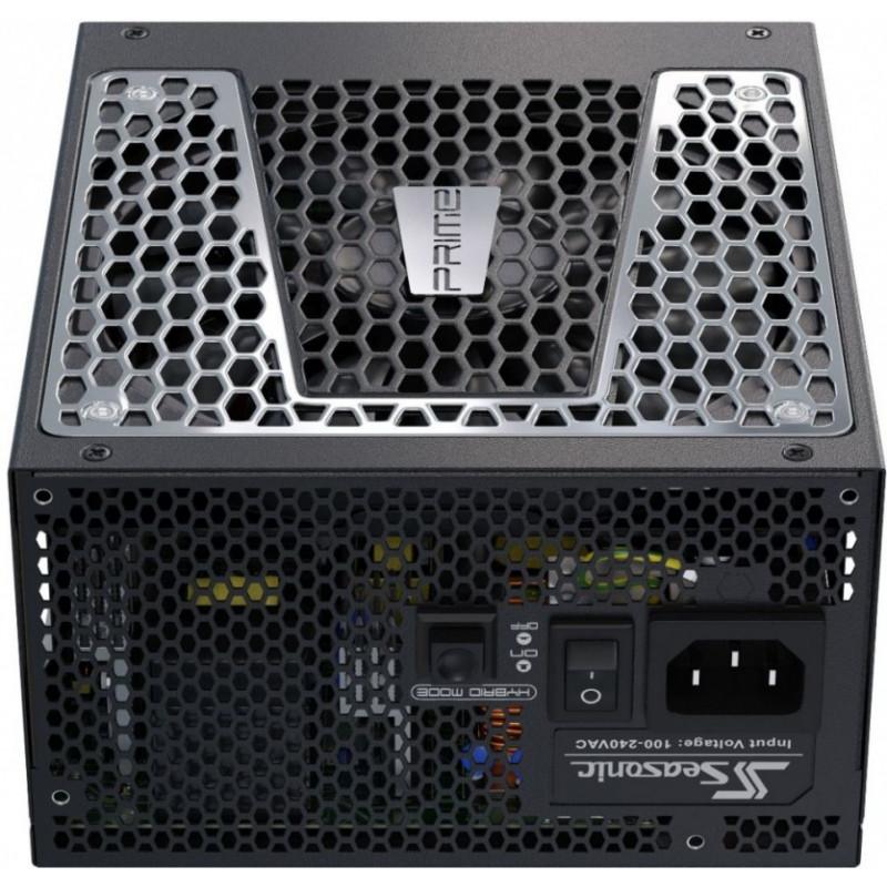 Блок питания Seasonic ATX 650W PRIME TX-650 80+ titanium (24+4+4pin) APFC 135mm fan 10xSATA Cab Manag RTL