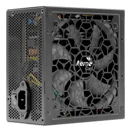 Блок питания Aerocool ATX 600W AERO WHITE 80+ (24+4+4pin) APFC 120mm fan 5xSATA RTL