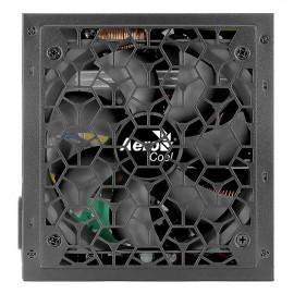 Блок питания Aerocool ATX 650W AERO WHITE 80+ (24+4+4pin) APFC 120mm fan 5xSATA RTL