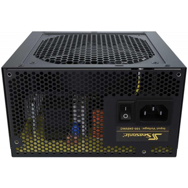Блок питания Seasonic ATX 650W CORE GC-650 (SSR-650LC) 80+ gold (24+4+4pin) APFC 120mm fan 4xSATA