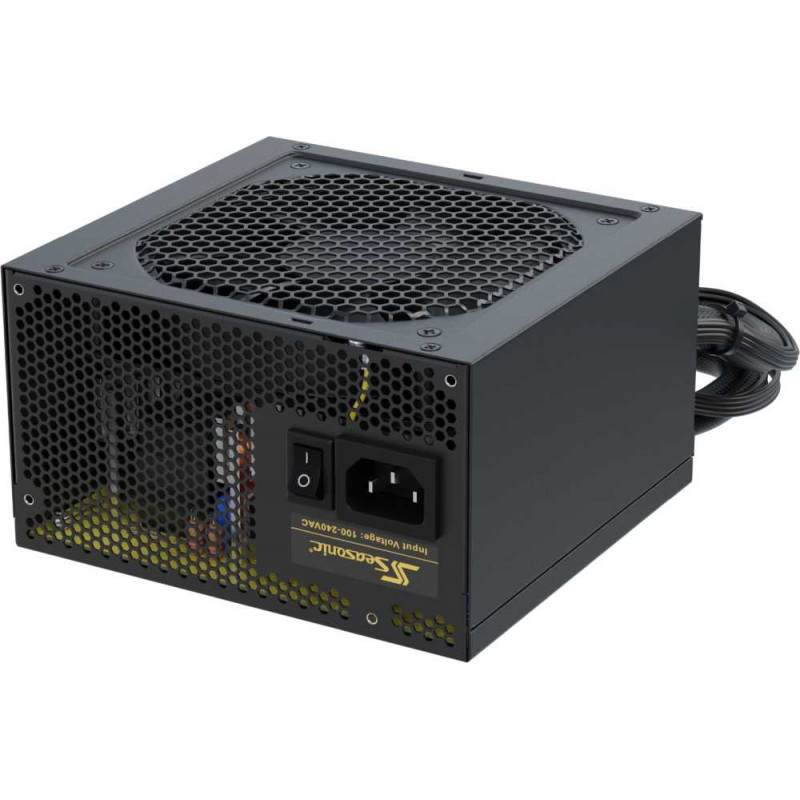 Блок питания Seasonic ATX 650W CORE GM-650 (SSR-650LM) 80+ gold (24+4+4pin) APFC 120mm fan 4xSATA