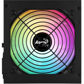 Блок питания Aerocool ATX 850W KCAS PLUS GOLD 850W ARGB 80+ gold 24+2x(4+4) pin APFC 120mm fan color LED 8xSATA RTL