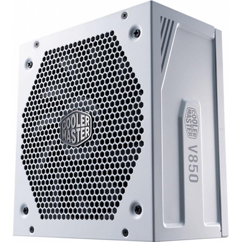 Блок питания Cooler Master ATX 850W V Gold V2 White Case 80+ gold (24+8+4+4pin) APFC 120mm fan 12xSATA RTL