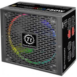 Блок питания Thermaltake ATX 750W Toughpower Grand RGB Sync 80+ gold (24+4+4pin) APFC 140mm fan color LED 9xSATA Cab Manag RTL