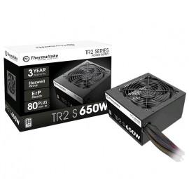 Блок питания Thermaltake ATX 650W TR2 S 80+ (24+4+4pin) APFC 120mm fan 5xSATA RTL
