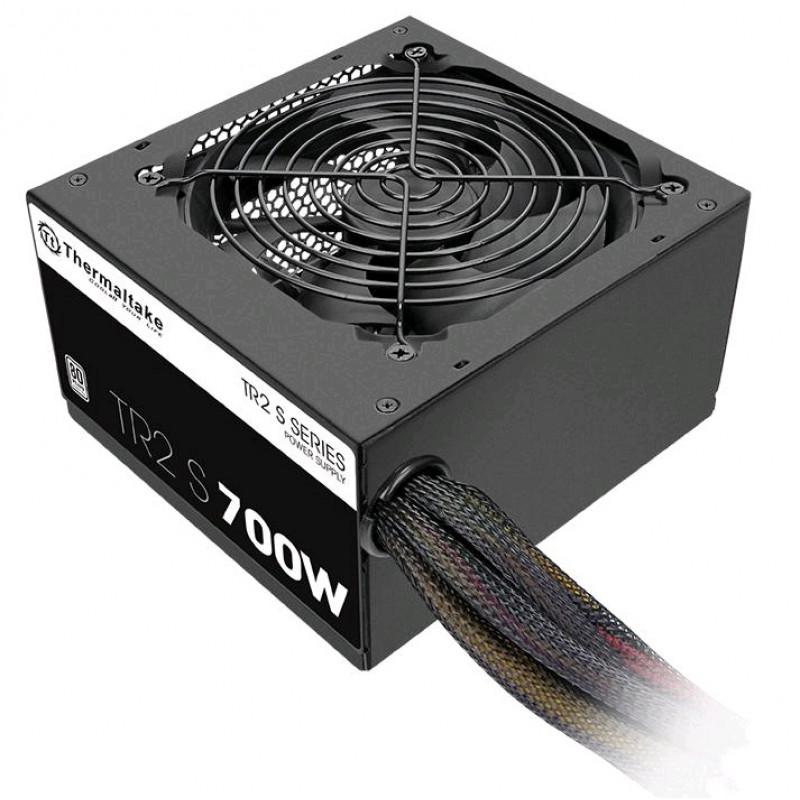 Блок питания Thermaltake ATX 700W TR2 S 80+ (24+4+4pin) APFC 120mm fan 6xSATA RTL