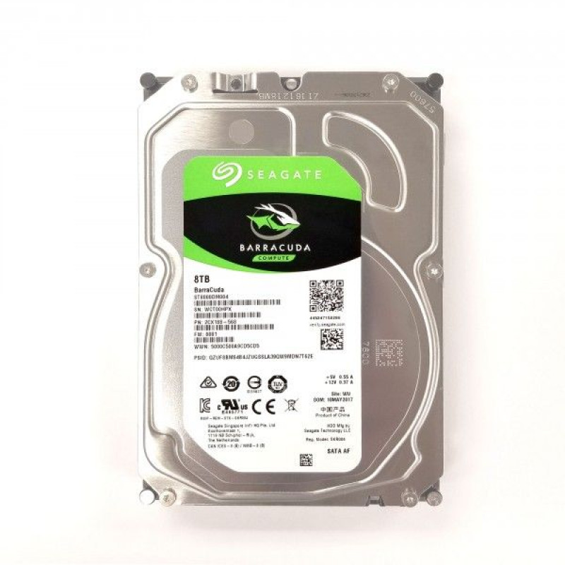 Жесткий диск Seagate Original SATA-III 8Tb ST8000DM004 Barracuda (5400rpm) 256Mb 3.5