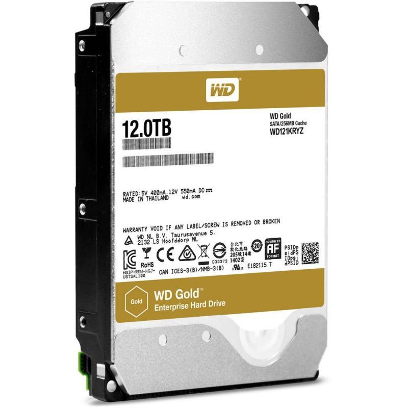 Жесткий диск WD Original SATA-III 12Tb WD121KRYZ Gold (7200rpm) 256Mb 3.5