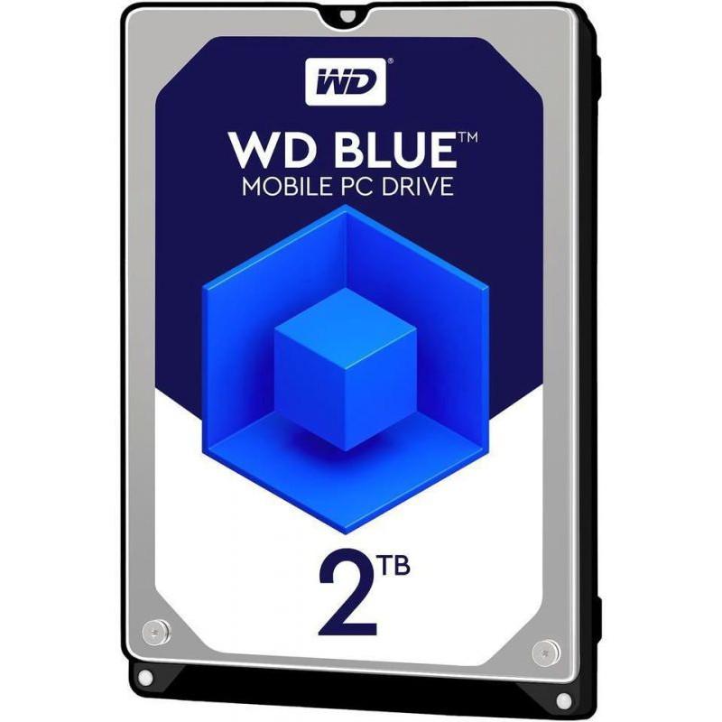 Жесткий диск WD Original SATA-III 2Tb WD20SPZX Blue (5400rpm) 128Mb 2.5