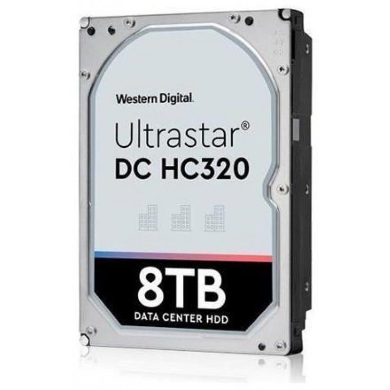 Жесткий диск WD Original SATA-III 8Tb 0B36404 HUS728T8TALE6L4 Ultrastar DC HC320 (7200rpm) 256Mb 3.5