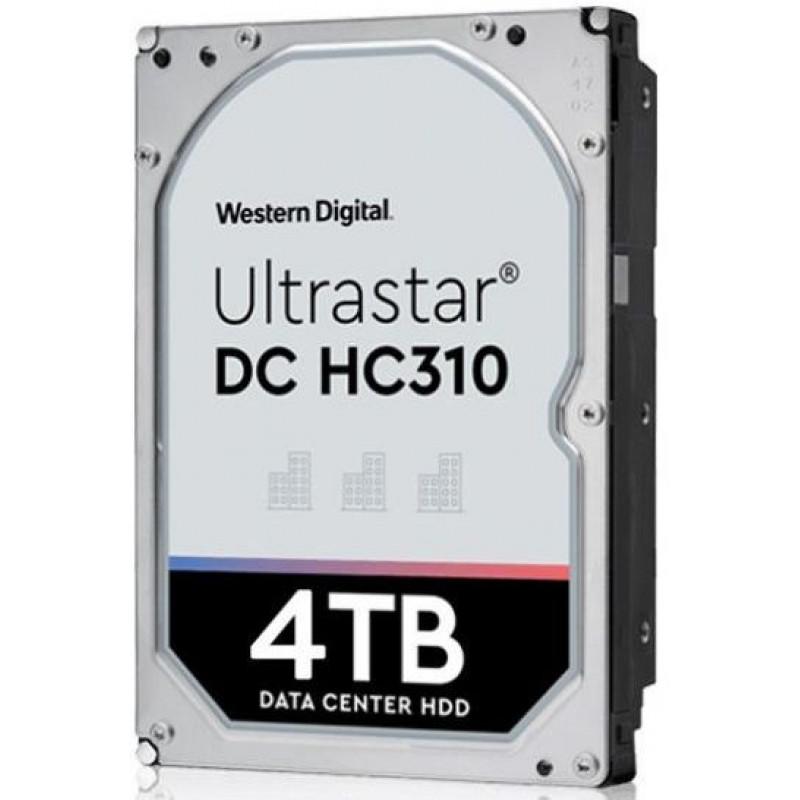 Жесткий диск WD Original SATA-III 4Tb 0B36040 HUS726T4TALE6L4 Ultrastar DC HC310 (7200rpm) 256Mb 3.5