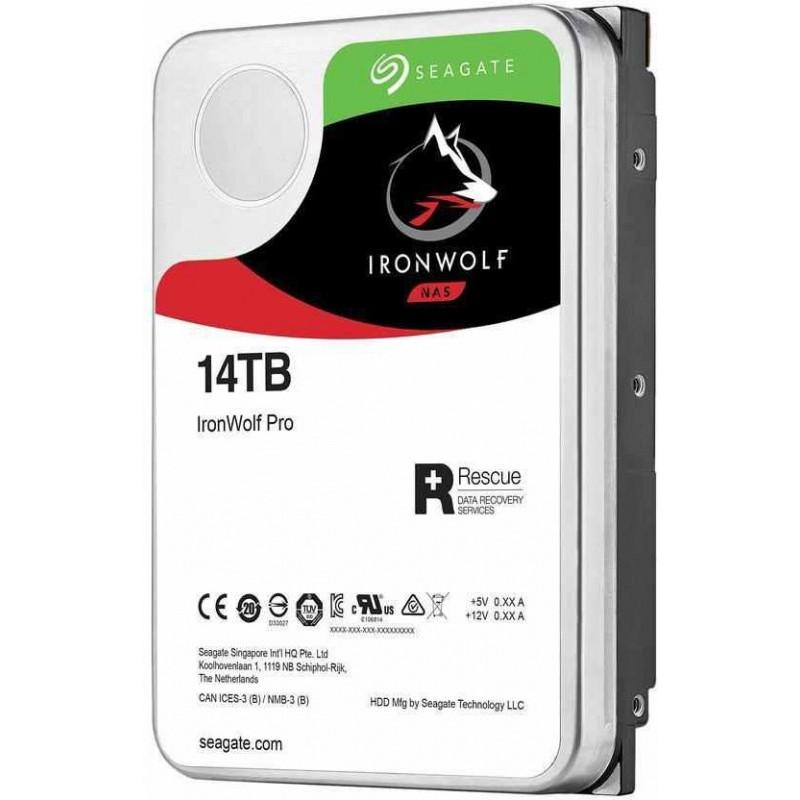 Жесткий диск Seagate Original SATA-III 14Tb ST14000NE0008 NAS Ironwolf Pro (7200rpm) 256Mb 3.5