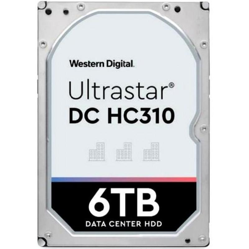 Жесткий диск WD Original SATA-III 6Tb 0B36039 HUS726T6TALE6L4 Ultrastar DC HC310 (7200rpm) 256Mb 3.5
