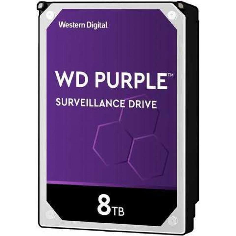 Жесткий диск WD Original SATA-III 8Tb WD82PURZ Purple (7200rpm) 256Mb 3.5