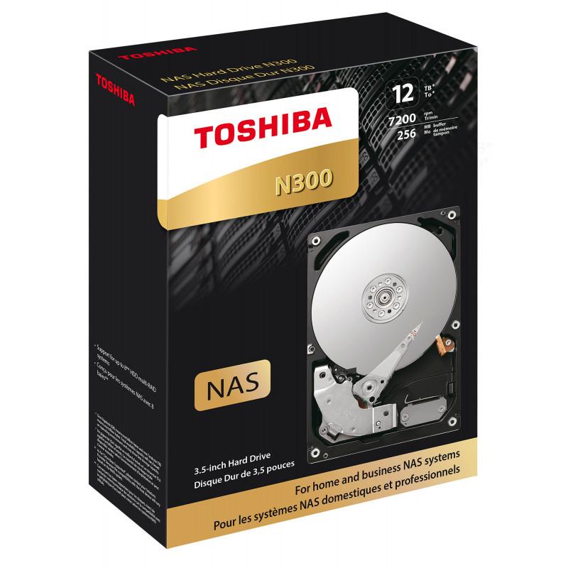 Жесткий диск Toshiba SATA-III 12Tb HDWG21CEZSTA NAS N300 (7200rpm) 256Mb 3.5