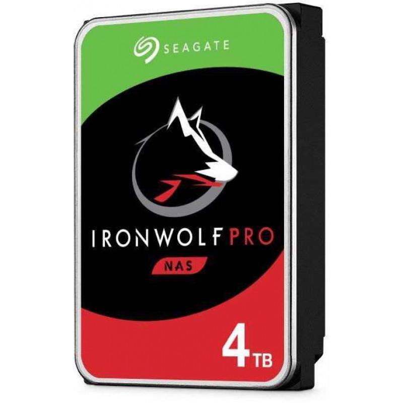 Жесткий диск Seagate Original SATA-III 4Tb ST4000NE001 NAS Ironwolf Pro (7200rpm) 256Mb 3.5