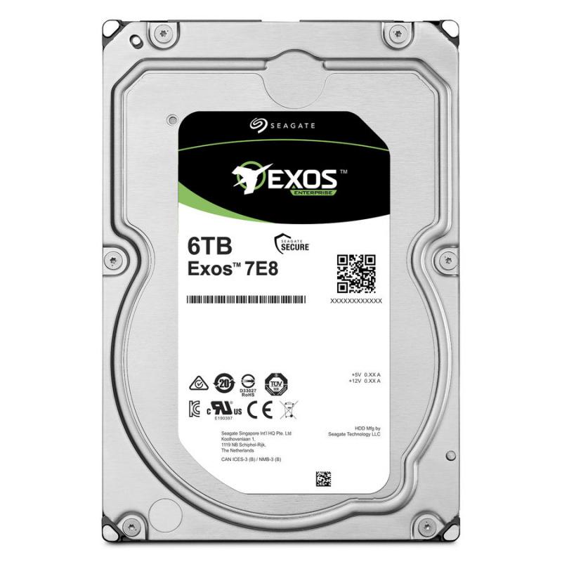 Жесткий диск Seagate Original SAS 3.0 6Tb ST6000NM029A Exos (7200rpm) 256Mb 3.5