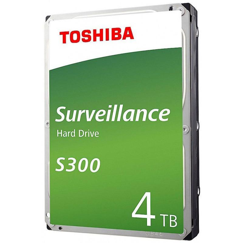 Жесткий диск Toshiba SATA-III 4Tb HDWT740UZSVA Surveillance S300 (5400rpm) 128Mb 3.5