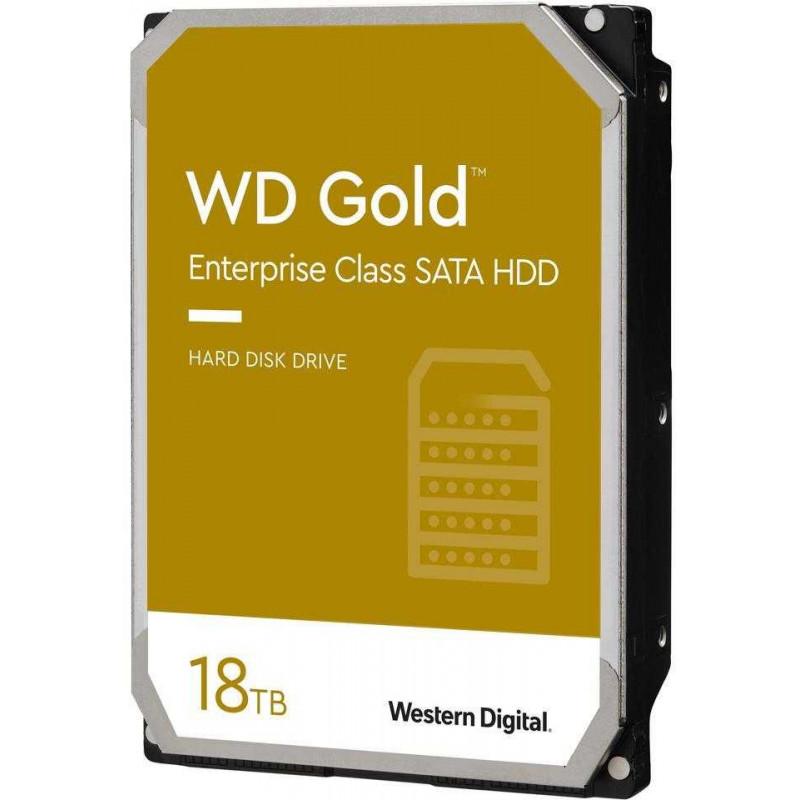 Жесткий диск WD Original SATA-III 18Tb WD181KRYZ Gold (7200rpm) 512Mb 3.5