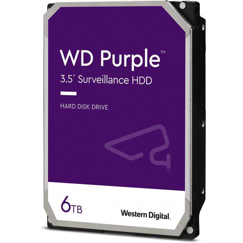 Жесткий диск WD Original SATA-III 6Tb WD62PURZ Purple (5640rpm) 128Mb 3.5