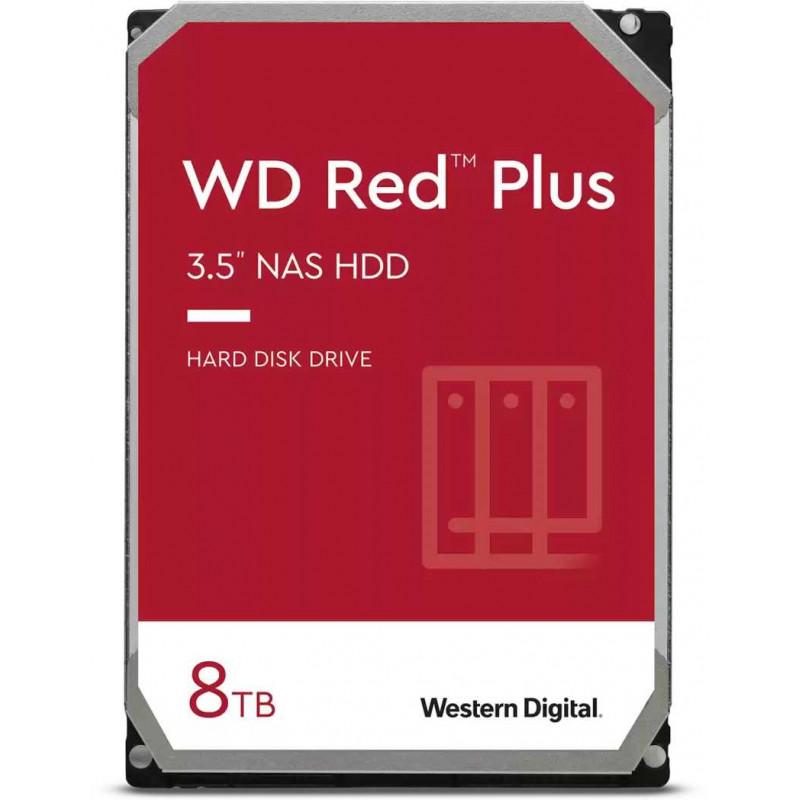 Жесткий диск WD SATA-III 8Tb WD80EFAX NAS Red Plus (5400rpm) 256Mb 3.5